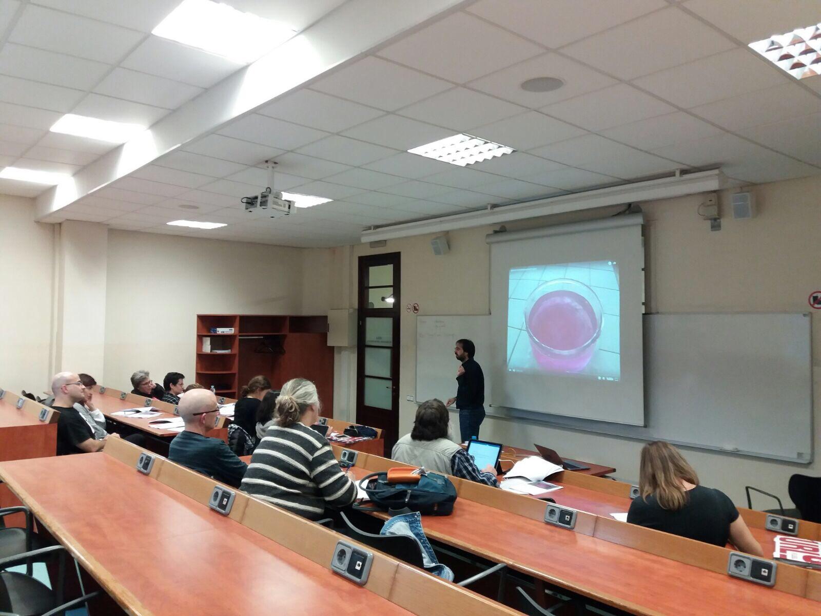Jornada profesores y ciencia IQS