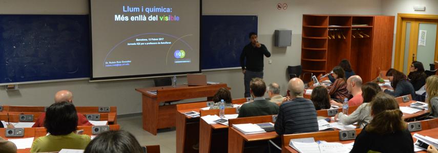 Jornada IQS para Profesores de Bachillerato Química