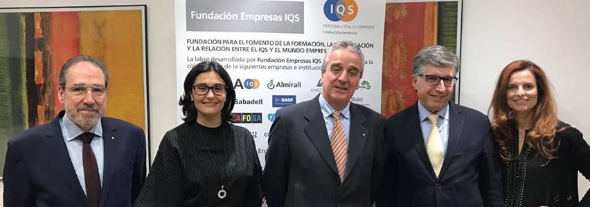 Mapei y Fundación Empresas IQS
