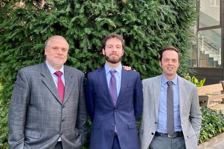 Dr, Jordi Abellà. Dr. Eduad Juhera y Dr. Sergi Colominas