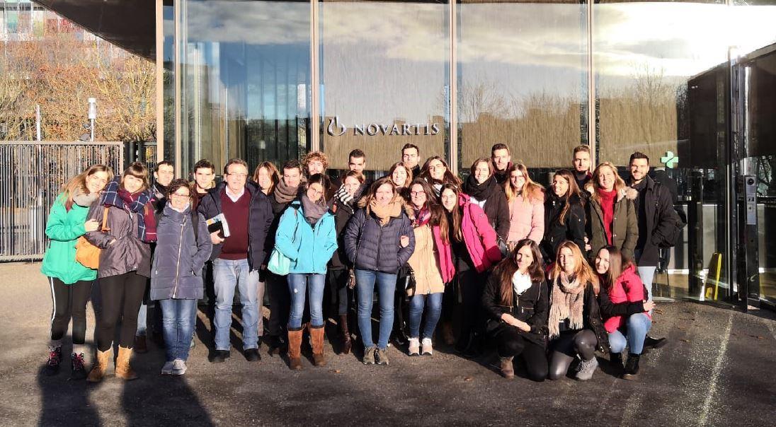 Estudiants IQS a la seu de Novartis a Suïssa