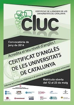 Certificado de Lenguas de las Universidades de Catalunya